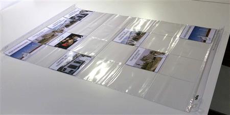 Tapete transparente con bolsillos Bee-Bot© 4 x 6
